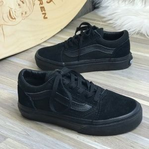 NWT VANS Old Skool Black Kid's AUTHENTIC